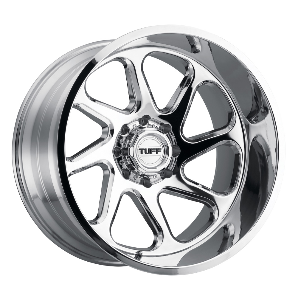 Tuff Wheels T2B - Chrome Rim