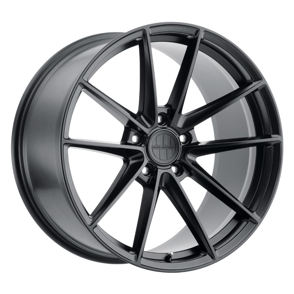 Victor Equipment Wheels Zuffen - Matte Black Rim