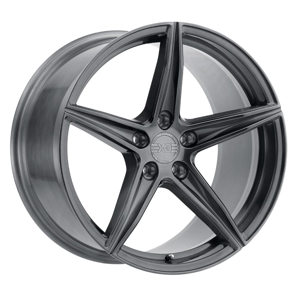 XO Luxury Wheels Auckland - Full Brushed Gunmetal Rim