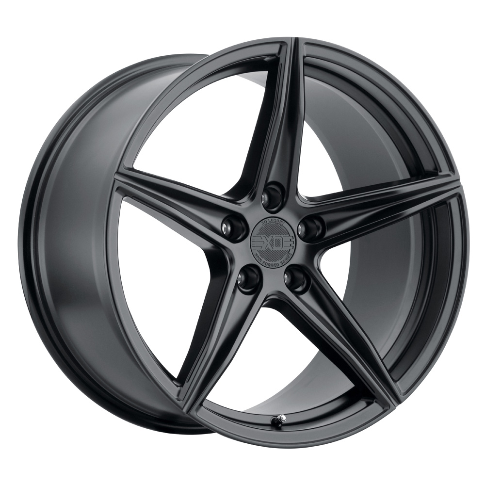 XO Luxury Wheels Auckland - Matte Black Rim