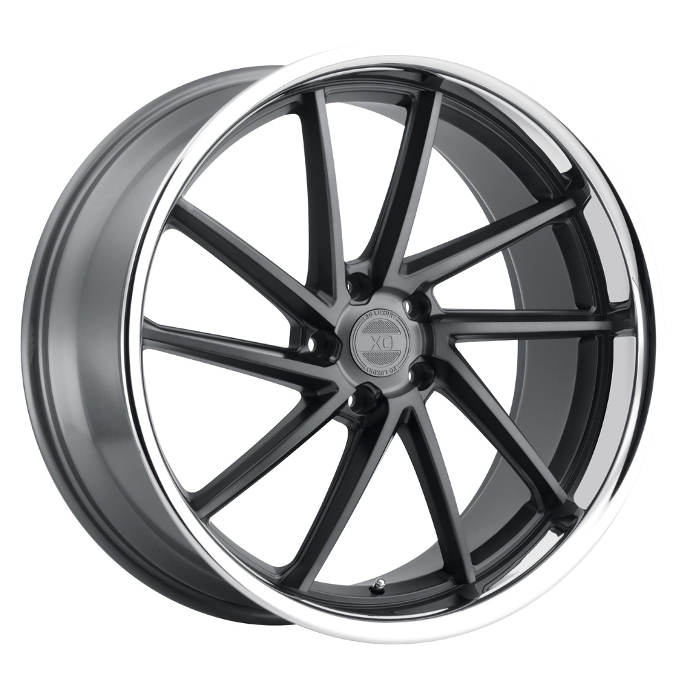 XO Luxury Wheels Florence - Gunmetal w/Brushed Face Rim