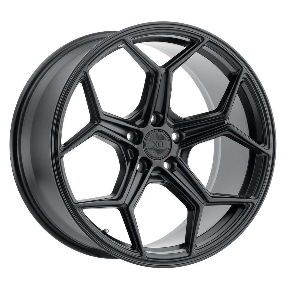 XO Luxury Wheels Helsinki - Matte Black Rim