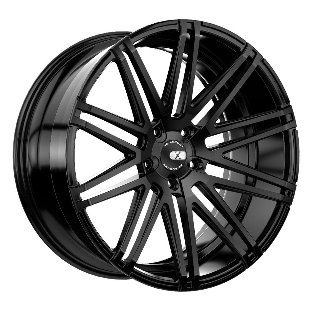 XO Luxury Wheels Milan - Matte Black Rim
