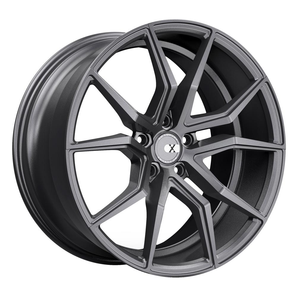 XO Luxury Wheels Verona - Matte Gunmetal Rim
