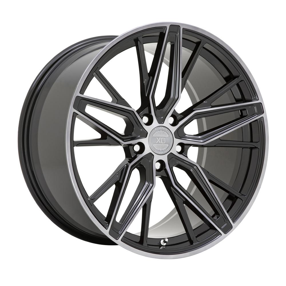 XO Wheels Zurich - Gloss Black with Machined Gloss Dark Tint Rim