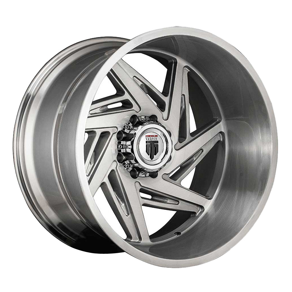 American Truxx Wheels AT1906 Spiral - Brushed Texture Rim