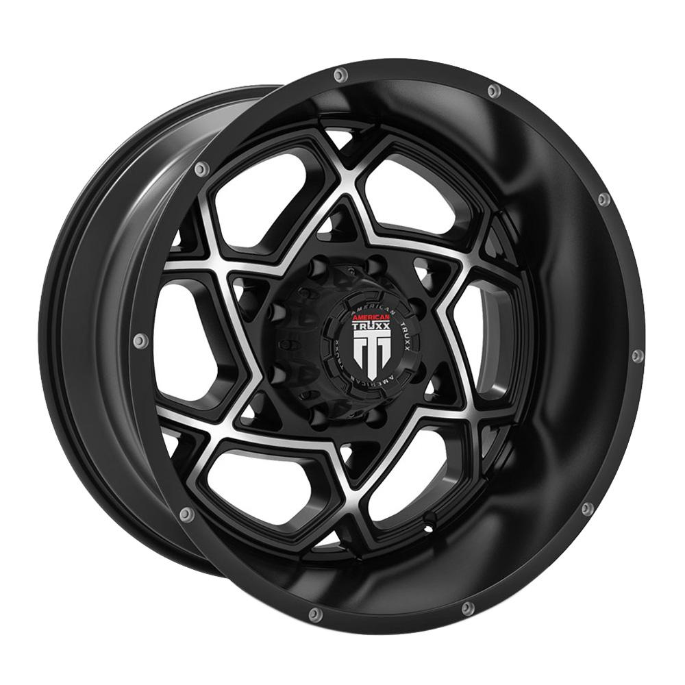 American Truxx Wheels AT164 Astro - Black Milled Rim