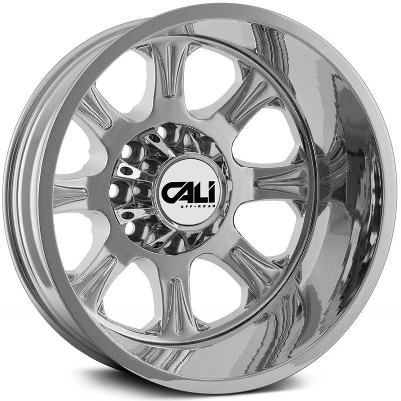 Cali Off-Road Wheels 9105 Brutal - Rear Chrome Rim