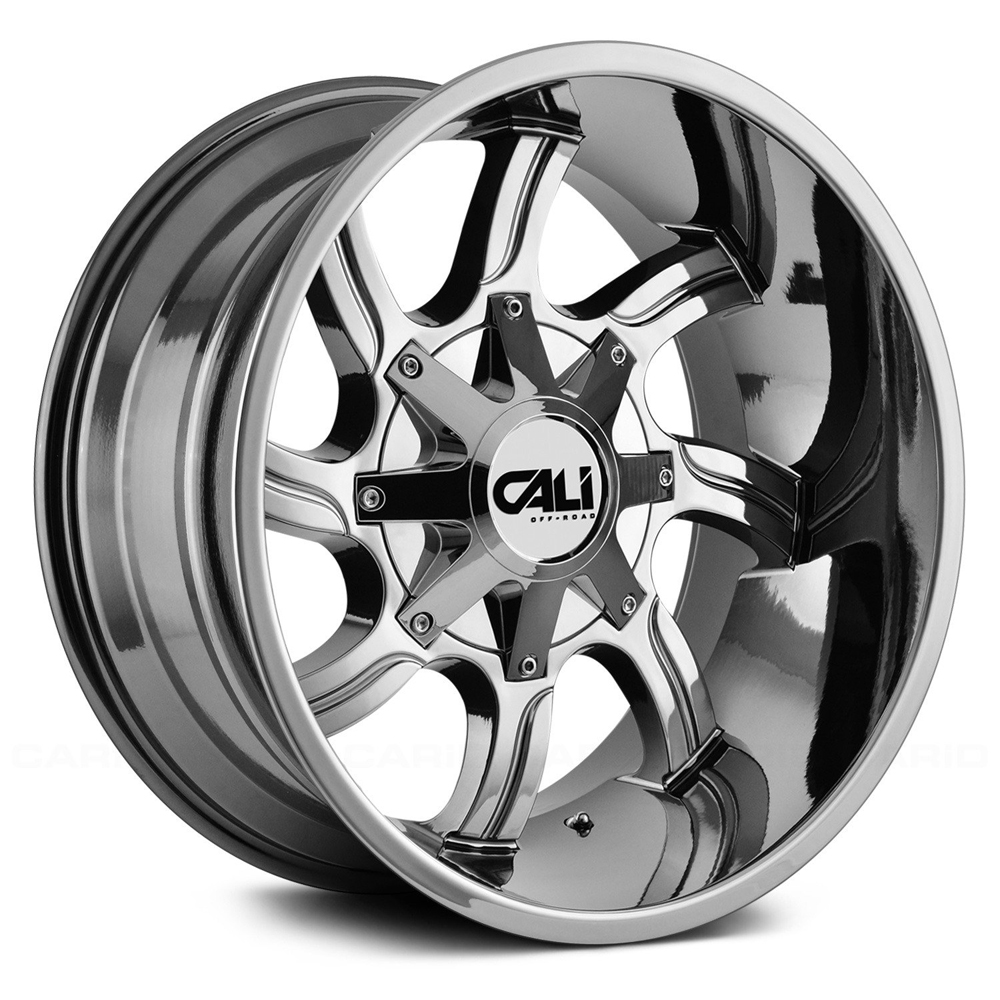 Cali Off-Road Wheels 9102 Twisted - Chrome Rim