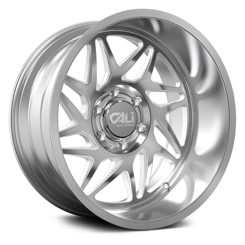 Cali Off-Road Wheels Gemini 9112 - Brushed & Clear Coated Rim