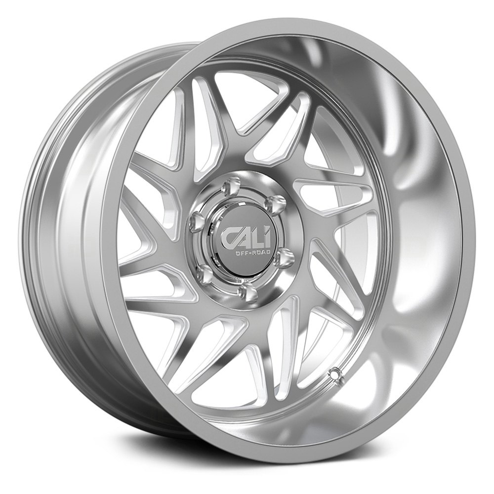 Cali Off-Road Wheels Gemini 9113 - Polished/Milled Spokes Rim