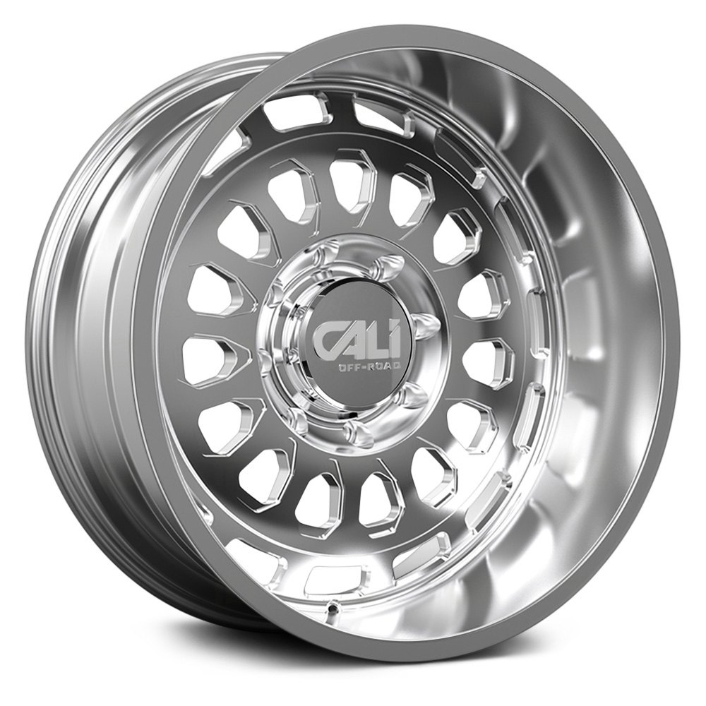Cali Off-Road Wheels Paradox 9113 - Polished/Milled Spokes Rim