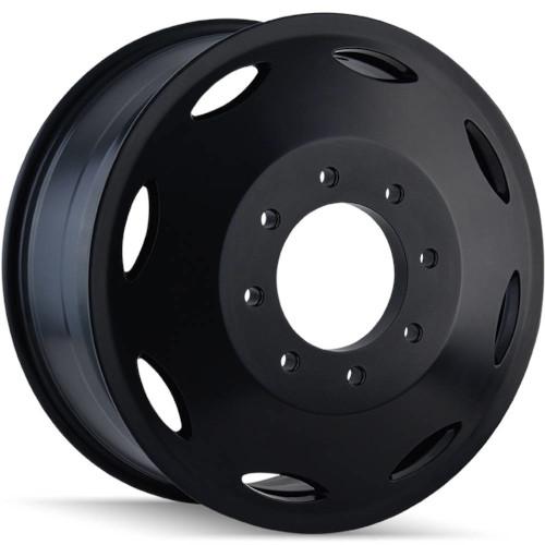 Cali Off-Road Wheels Summit Dually 9110D Inner - Black Rim