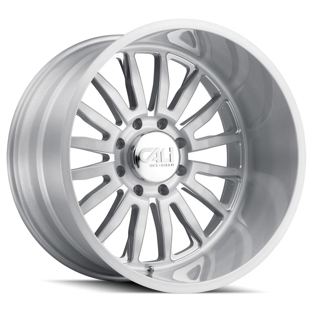 Cali Off-Road Wheels Summit 9110 - Brushed & Clear Coated Rim