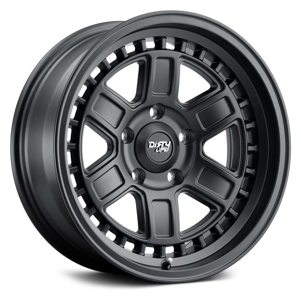 Dirty Life Wheels Cage 9308 - Matte Black Rim