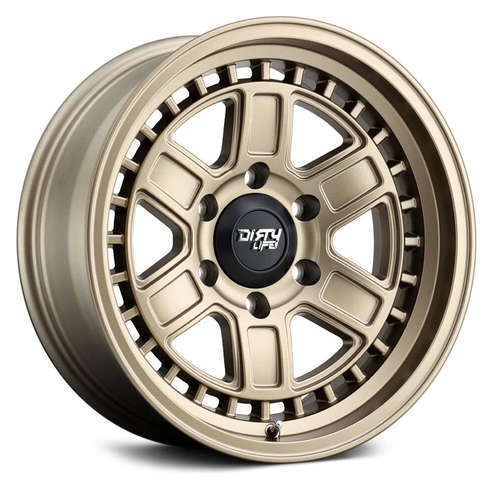 Dirty Life Wheels Cage 9308 - Matte Gold Rim