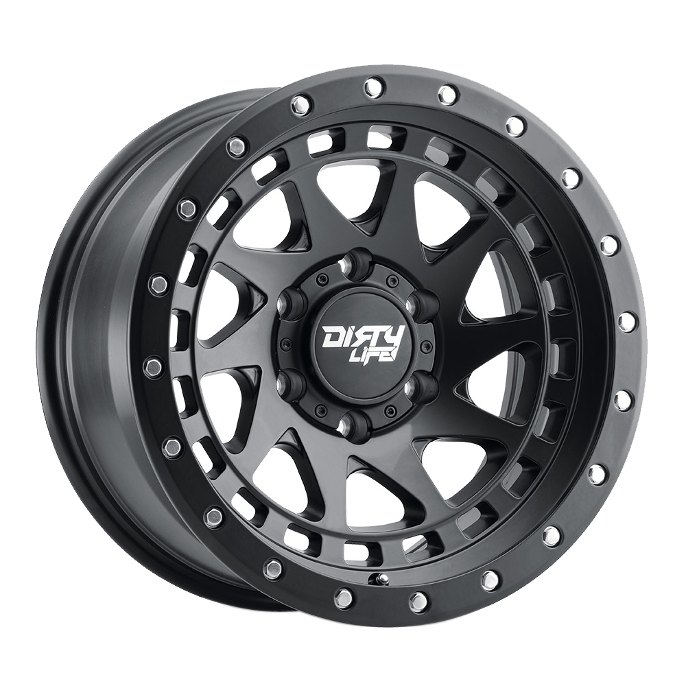 Dirty Life Wheels Enigma 9311 - Matte Black Rim