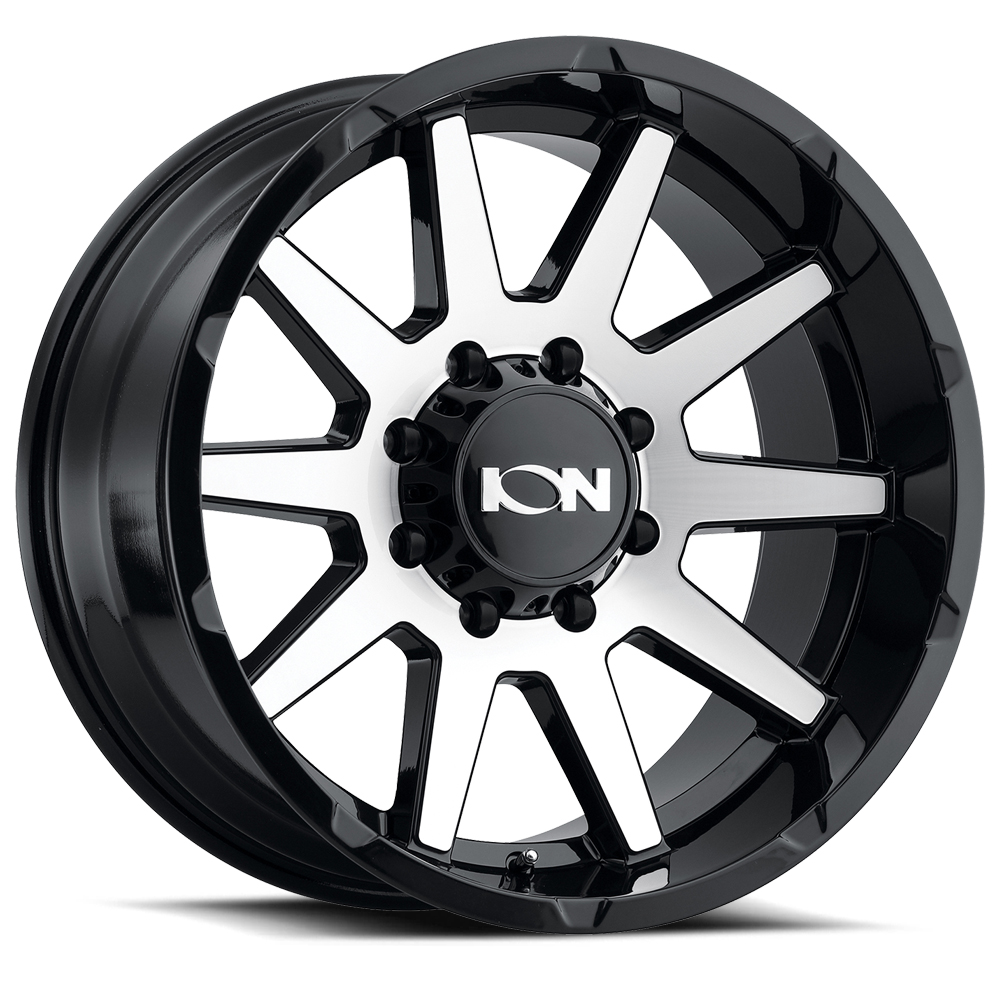 Ion Alloy Wheels 143 - Gloss Black/Machined Face Rim