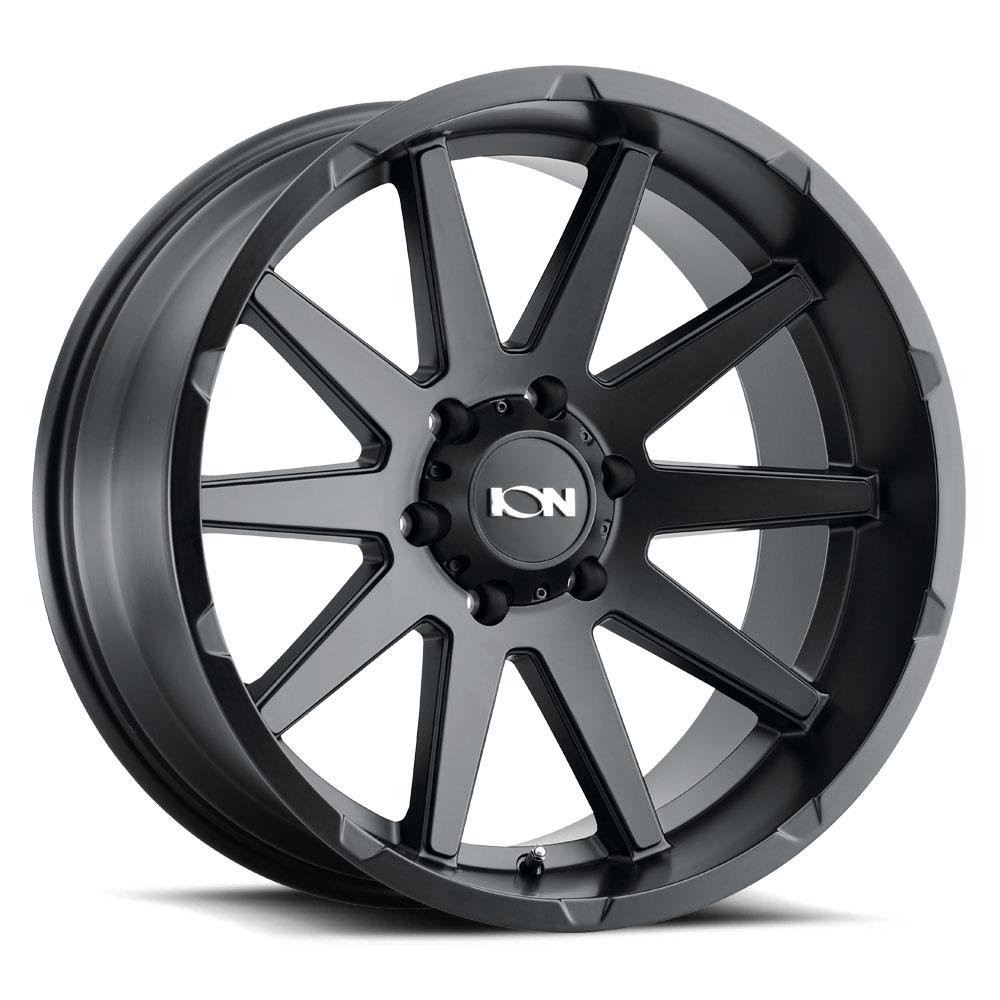 Ion Alloy Wheels 143 - Matte Black Rim