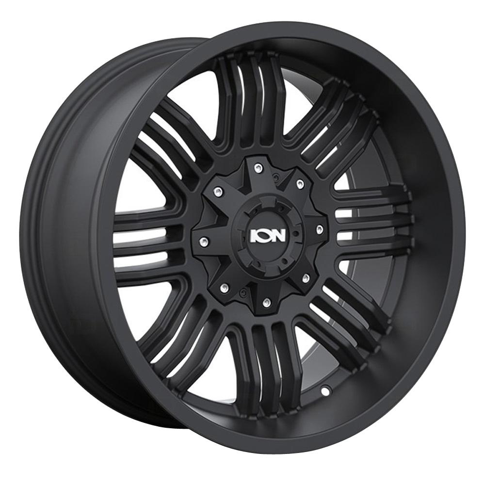Ion Alloy Wheels 144 - Matte Black Rim
