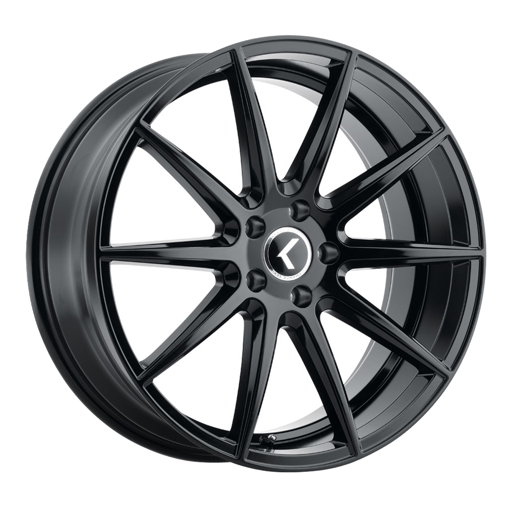 Kraze Wheels KR194 Cosmos - Gloss Black Rim