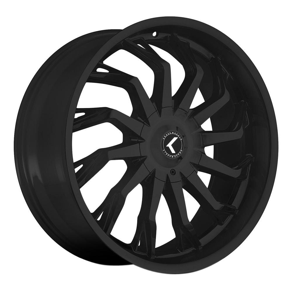 Kraze Wheels KR142 Scrilla - Satin Black Rim
