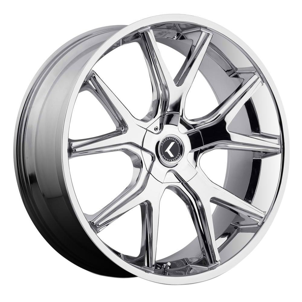 Kraze Wheels KR146 Spltz - Chrome Rim