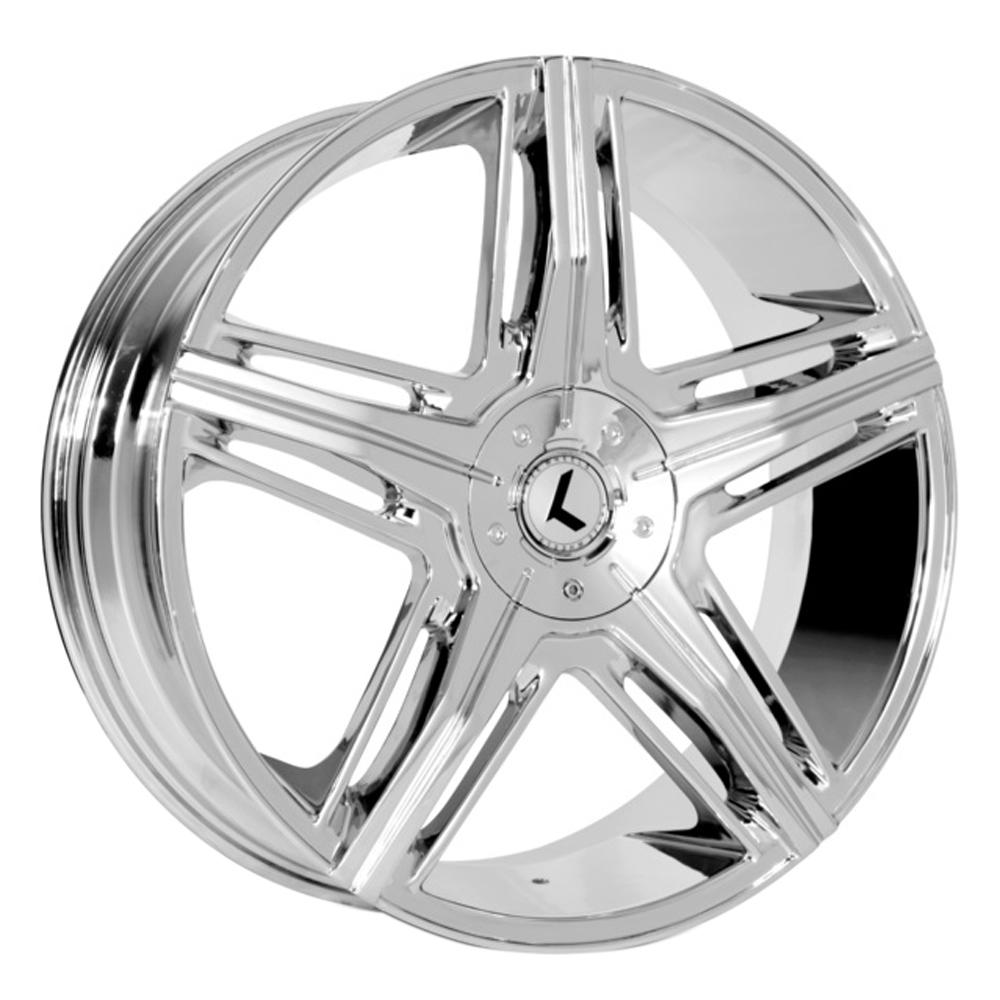 Kraze Wheels KR158 Hype - Chrome Rim