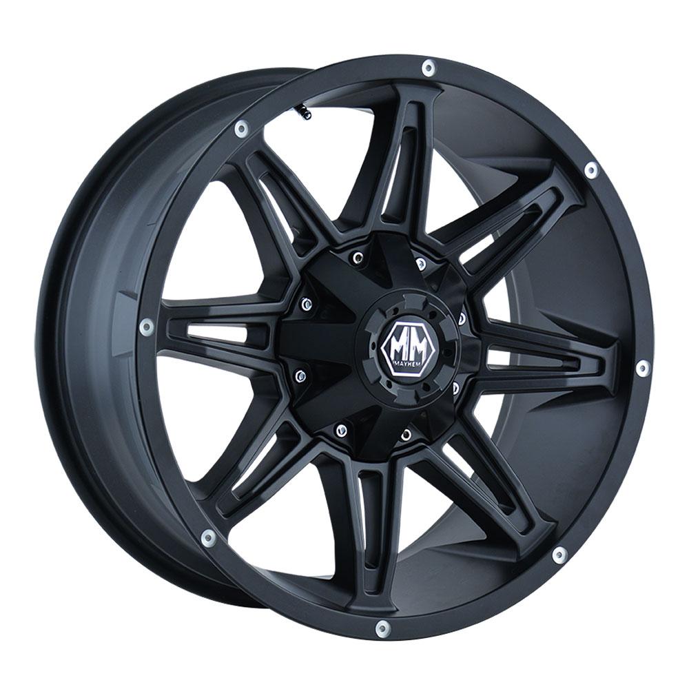 Mayhem Wheels 8090 Rampage - Matte Black Rim