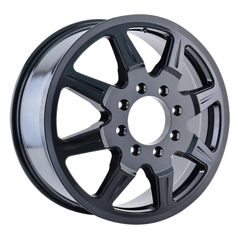 Mayhem Wheels 8101 Monstir Dually - Black Rim