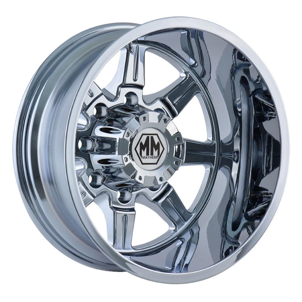 Mayhem Wheels 8101 Monstir Dually - Chrome Rim