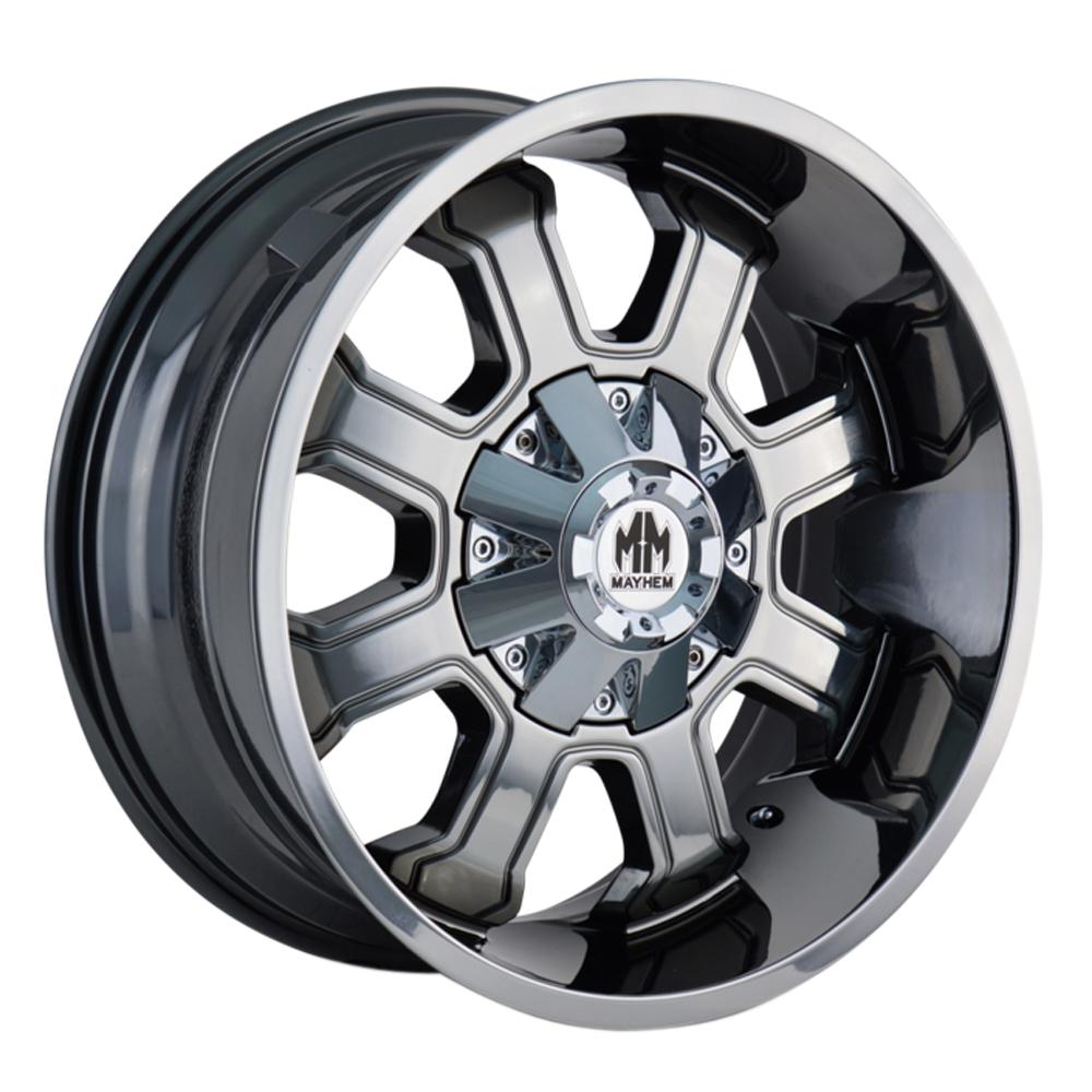 Mayhem Wheels 8103 Fierce - Chrome Rim
