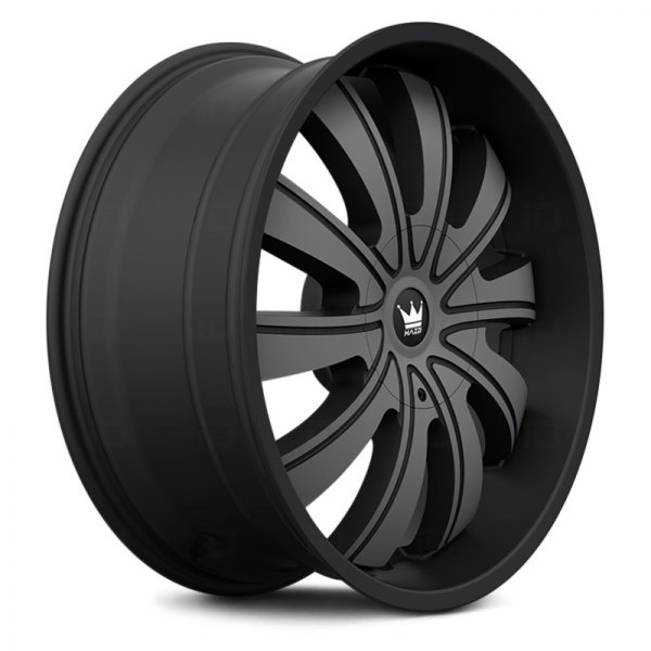Mazzi Wheels Rolla 374 - Matte Black Machined with Dark Tint Rim