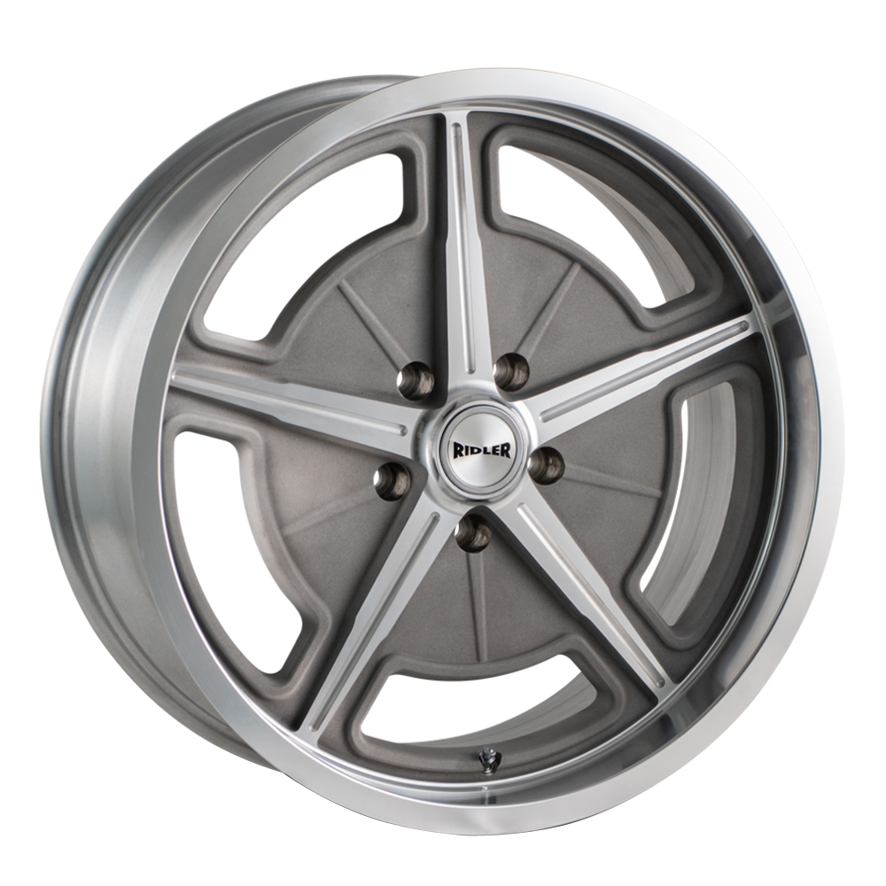 Ridler Wheels 605 - As Cast W/ Machined Spokes & Lip