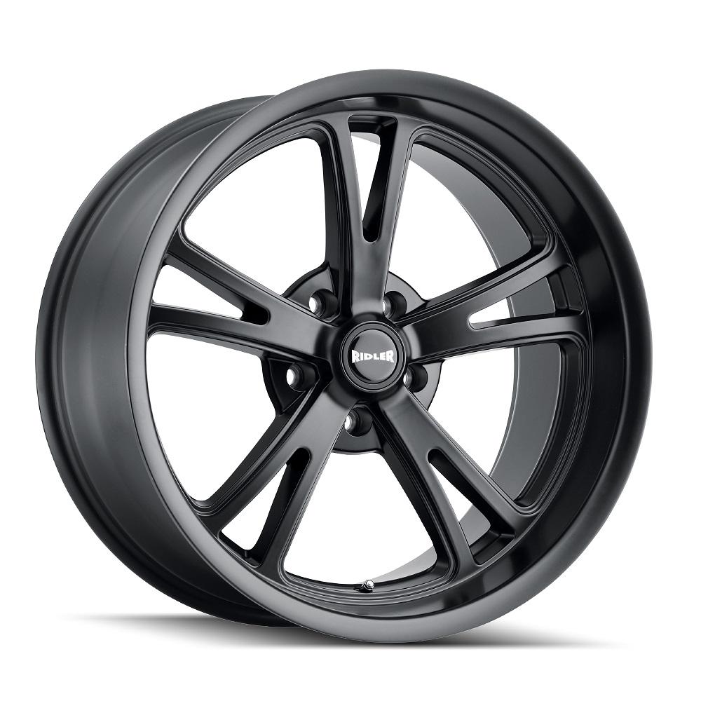 Ridler Wheels 606 - Matte Black Rim