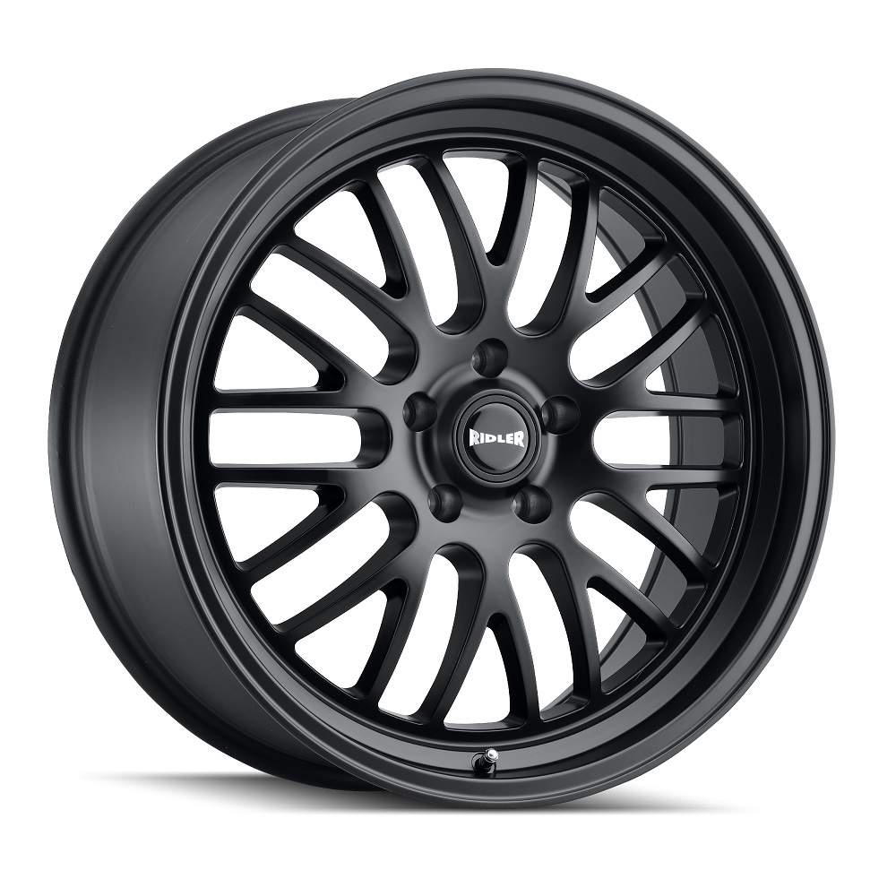 Ridler Wheels 607 - Matte Black Rim