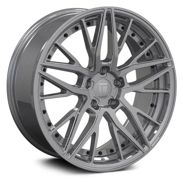 Touren Wheels TR93 3293 - Gloss Graphite/Black Rivets Rim