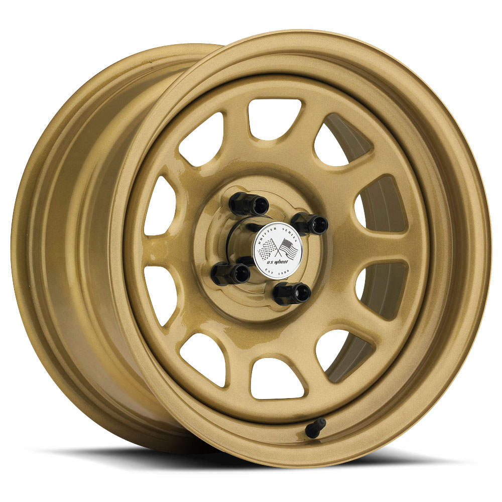 U.S. Wheel Daytona 022 - Gold Rim