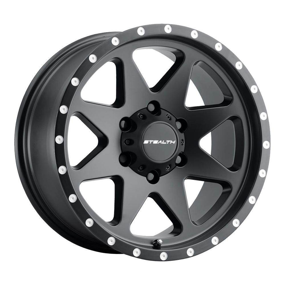 U.S. Wheel Aluminum Stealth (Series 770) - Matte Black Rim