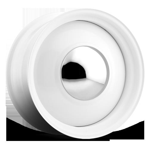 U.S. Wheel 512 Smoothie - Gloss White Rim