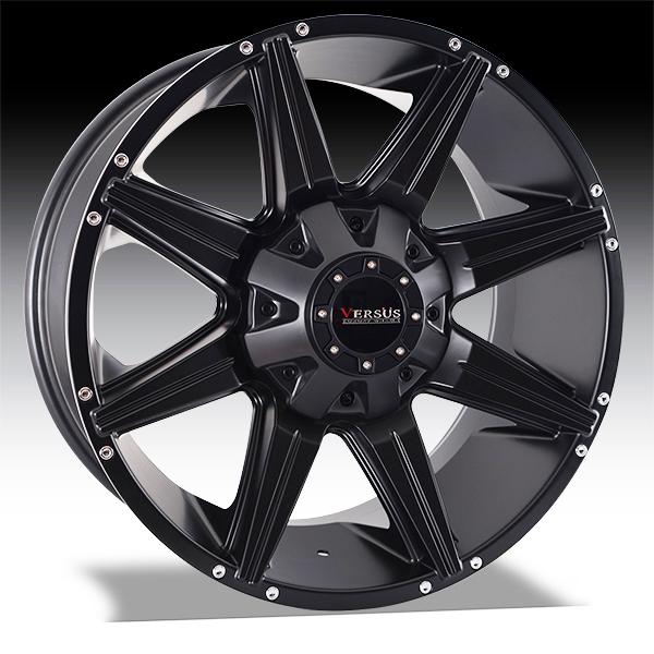 Versus Wheels Diesel - Satin Black Rim