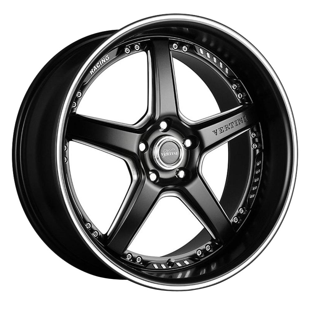 Vertini Wheels Drift - Matte Black Rim