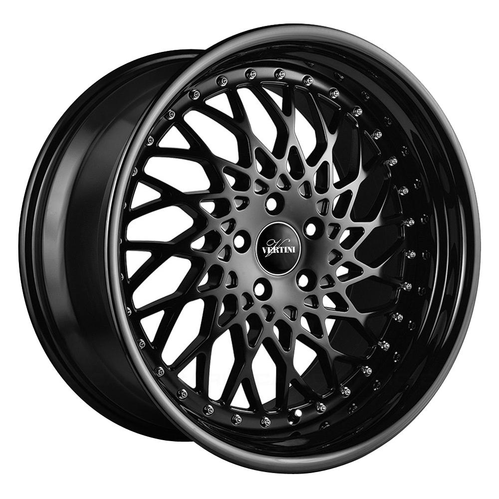 Vertini Wheels Hellfire - Matte Black Rim
