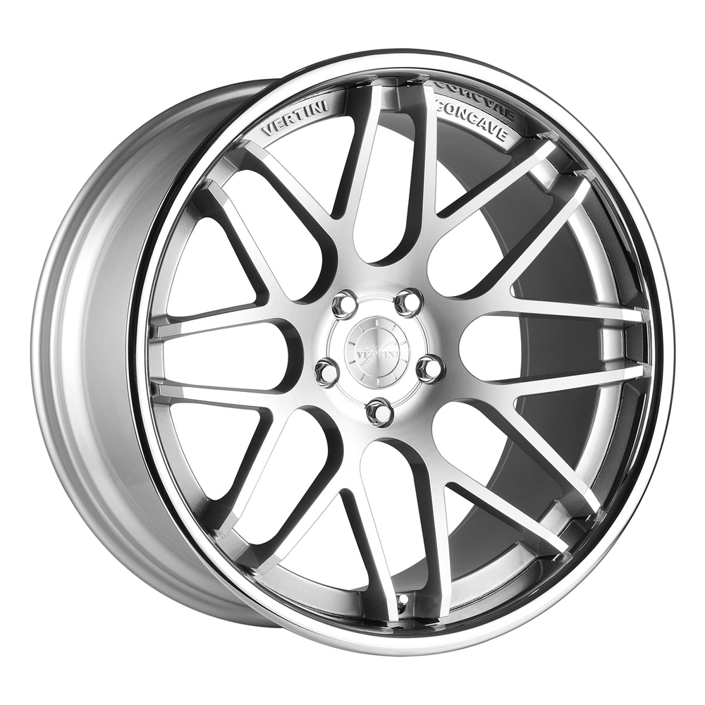 Vertini Wheels Magic - Machine Silver Chrome Lip