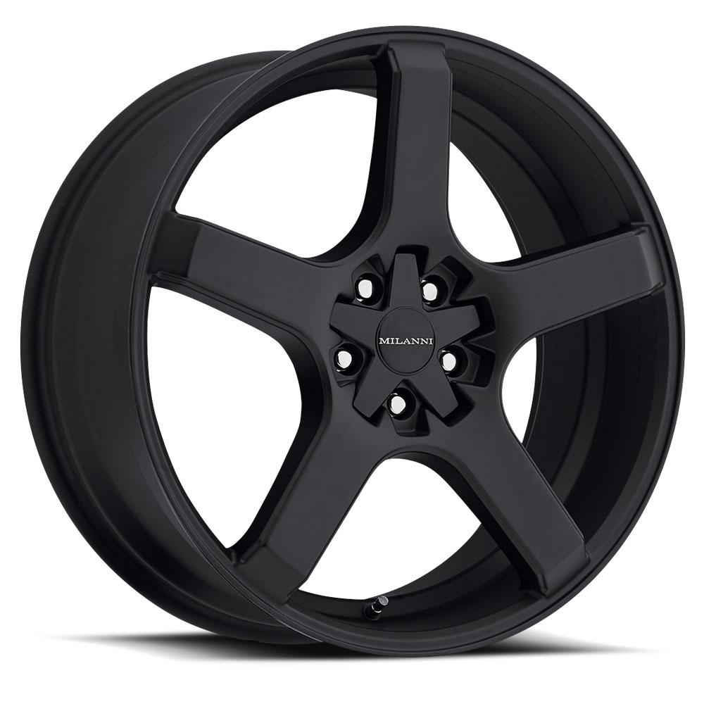Milanni Wheels 464 VK-1 - Satin Black Rim