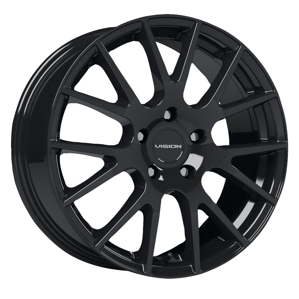 Vision Wheels 18 Hellion - Gloss Black Rim