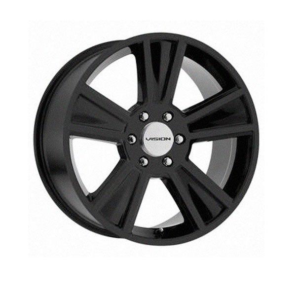 Vision Wheels Stunner - Satin Black Rim