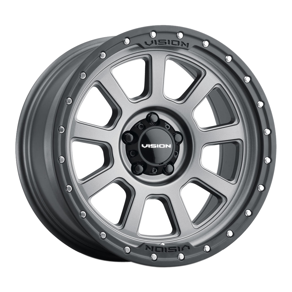 Vision Wheels 350 Ojos - Satin Grey Rim
