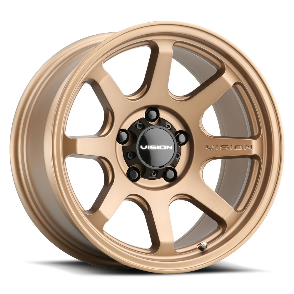 Vision Wheels 351 Flow - Bronze Rim