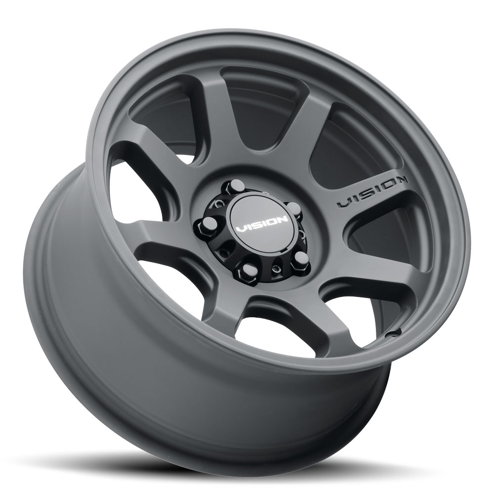 Vision Wheels 351 Flow - Satin Black Rim